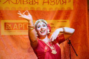 Елена Тарасова, индийский классический танец кучипуди